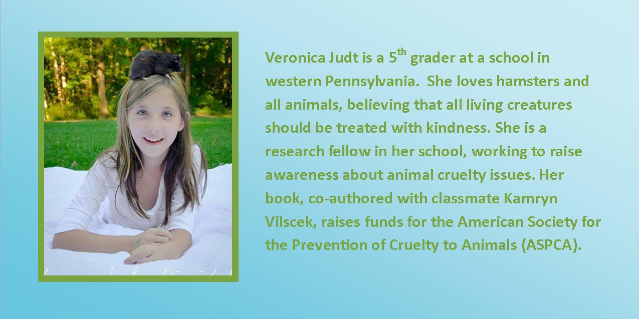 Veronica Judt Author and Animal Rights Advocate