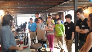 Platypus LLC and Grow a Generation STEM Careers Tours Mechanical - Electrical - Marine - Software - Engineers