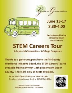STEM Careers Tour June 2016